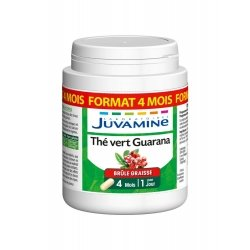 Juvamine Thé Vert Guarana Format Cure Longue 120 gélules