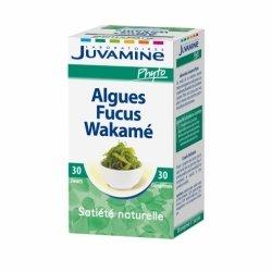 Juvamine Algues Fucus Wakame Satiété Naturelle 30 comprimés