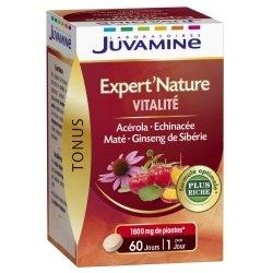 Juvamine Expert'Nature Vitalité 60 comprimés
