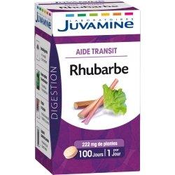 Juvamine Aide Transit Bhubarbe 100 comprimés