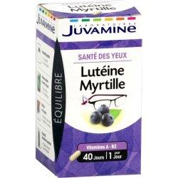 Juvamine Santé des Yeux Lutéine Myrtille 40 gélules