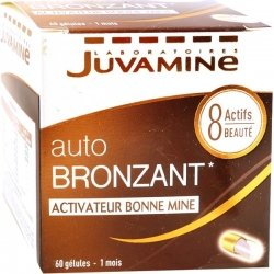 Juvamine Bronzage Autobronzant 60 gélules