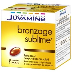 Juvamine Bronzage Sublime 60 capsules