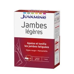 Juvamine Jambes Légères 30 gélules