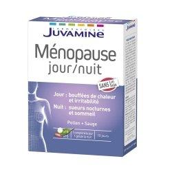 Juvamine Ménopause Jour/Nuit 15 comprimés + 15 gélules