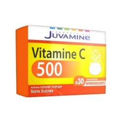 Juvamine Vitamine C 500 30 comprimés effervescents