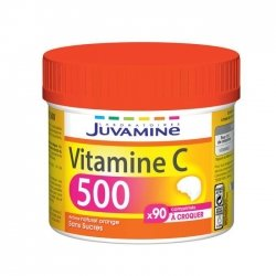 Juvamine Vitamine C 500 Maxi Format 90 comprimés à croquer