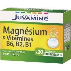 Juvamine Magnésium + Vitamines 30 comprimés effervescents