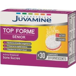 Juvamine Top Forme Senior 30 comprimés effervescents