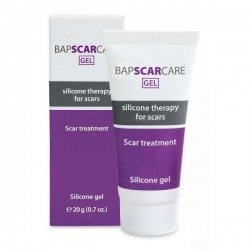 Bap-medical Bap scar care gel silicone transparent non gras tube 20g