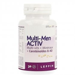 Leppin Multi-Men Activ 30 comprimés