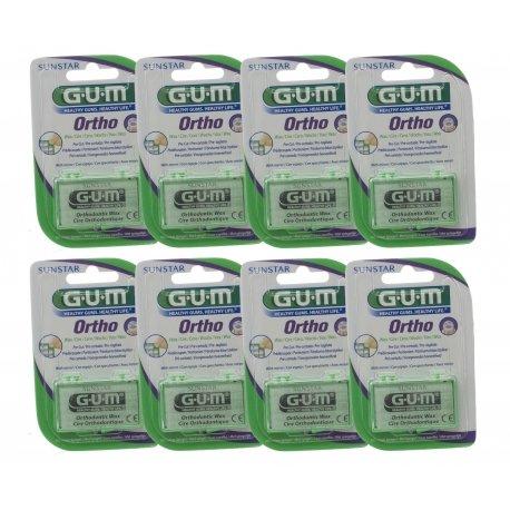 Gum Cire Orthodontique 723 Pack 8 boîtes