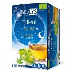 Biolys Tilleul Bonne Nuit 24 sachets