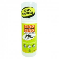 Cinq sur cinq zones temper. 25% spray 100ml