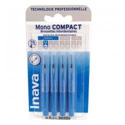 Inava Mono Compact Brossettes Interdentaires Bleu Etroits 0,8 mm