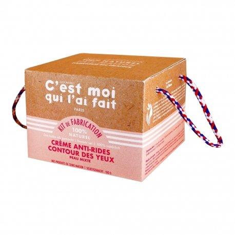Dietworld C'est Moi Qui l'ai Fait Kit Crème Anti-Rides Contour des Yeux 100g