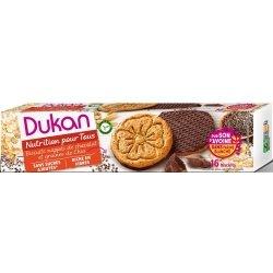 Dukan Biscuits Nappés de Chocolat et Graines de Chia 16 Biscuits