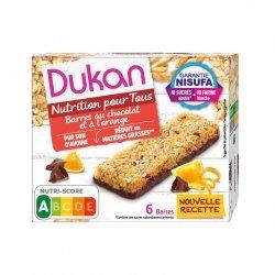 Dukan Barres Chocolat et Orange 6 Barres