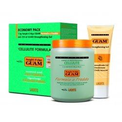 Guam Pack Boue d'Algues Froid 1000g + Gel 250ml