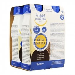 FREBINI ENERGY FIBRE DRINK CHOCOLAT 4 x 200ML