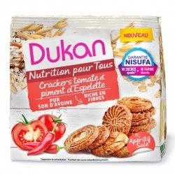 Dukan Crackers Tomate et Piment d'Espelette