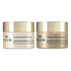 Nuxe Pack Routine Nuxuriance Gold Crème Huile 50ml + Baume Nuit 50ml