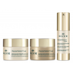 Nuxe Pack Routine Nuxuriance Gold Crème Huile 50ml + Baume Nuit 50ml + Sérum 30ml