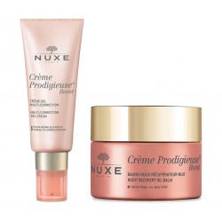 Nuxe Pack Routine Crème Prodigieuse Boost Crème Gel (peau normale) + Baume Nuit