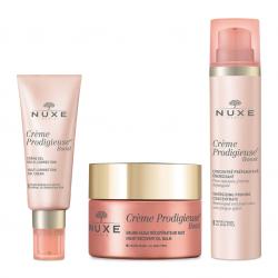 Nuxe Pack Routine Crème Prodigieuse Boost Crème Gel (peau normale) + Baume Nuit + Concentré