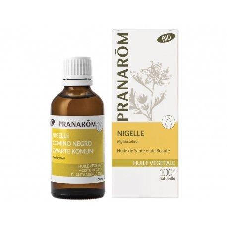Pranarom Nigelle huile végétale 50 ml
