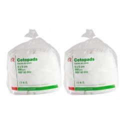 Cotopads Duo Pack Pièce de Coton 5x5cm (2x500)