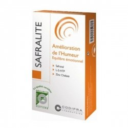 Codifra Safralite 15 mg Amélioration de l'Humeur 28 gélules