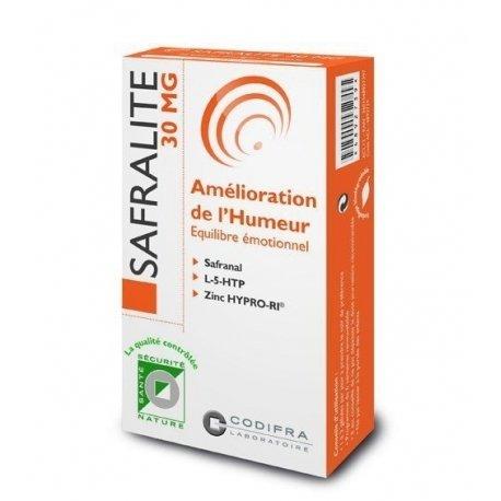Codifra Safralite 30mg Amélioration de l'Humeur 28 gélules