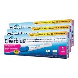 Clearblue Trio Pack Test de Grossesse à Détection Précoce 3 pièces