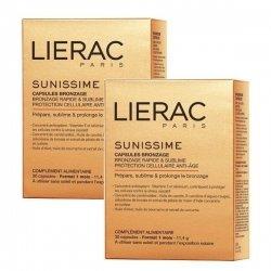 Lierac Sunissime Duo Capsules Bronzage Anti Age 2x30 capsules