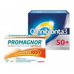 Omnibionta Pack Omnibionta 3 50+ 30 comp + Promagnor Magnésium 90 caps