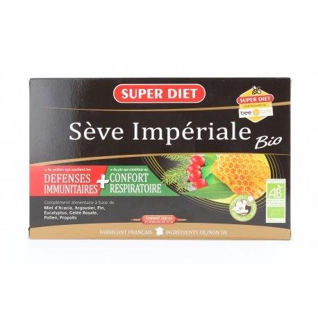 Superdiet Sève Impériale Bio 20 ampoules de 15ml
