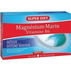 Superdiet Magnésium Marin + Vitamine B6 20 ampoules de 15ml