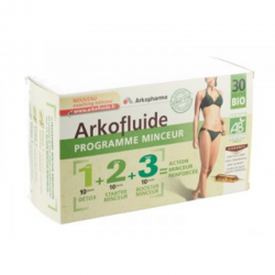Arkofluides Programme minceur amp 30 x 15ml