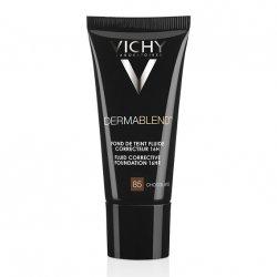 Vichy Dermablend Fond de Teint Fluide Correcteur 16H Chocolate 85 30ml