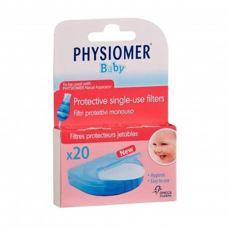 Physiomer mouche bébé filtres de recharge 20 pièces