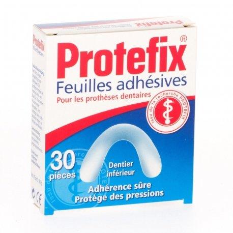 Protefix 30 feuilles adhésives inferieurs