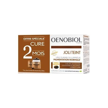 Oenobiol Duo Pack Joli Teint / Autobronzant 2x30 Capsules