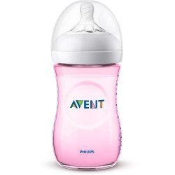 Philips Avent Natural 2.0 Biberon 260ml Rose SCF034/17