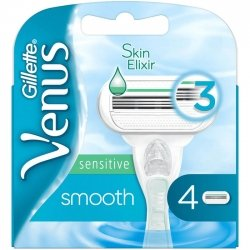 Gillette Venus Skin Elixir Sensitive Smooth x4
