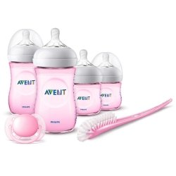 Philips Avent Natural 2.0 Kit Nouveau Ne Rose SCD301/03