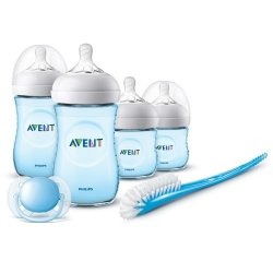 Philips Avent Natural 2.0 Kit Nouveau Ne Blue SCD301/04
