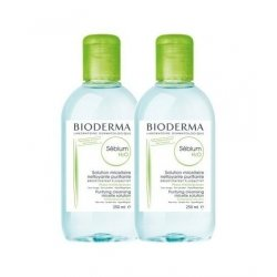 Bioderma Duo Pack Sebium H2O Solution Micellaire 2x250ml