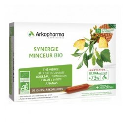 Arkopharma Arkofluides Synergie Minceur Bio 20 ampoules
