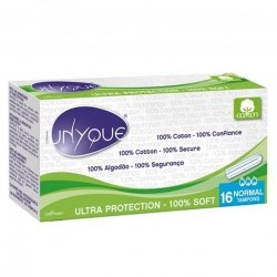 Unyque Ultra Protection 100% Soft 16 Normal Tampons